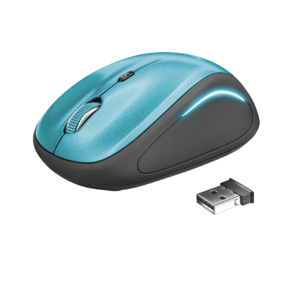 Мышь Yvi FX wireless mouse - blue