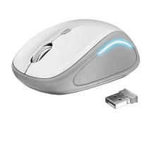Миша Yvi FX wireless mouse - white