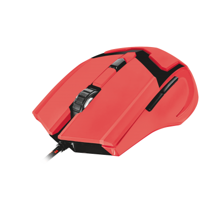 Мышь GXT 101-SG Spectra Gaming Mouse red