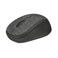 Yvi Fabric Wireless Mouse - black