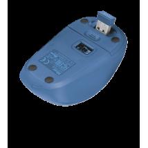 Yvi Fabric Wireless Mouse - blue