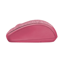 Yvi Fabric Wireless Mouse - pink
