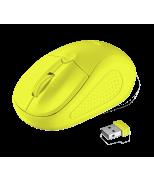 Primo Wireless Mouse - neon yellow