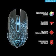 Бездротова ігрова миша GXT 107 Izza Wireless Optical Gaming Mouse