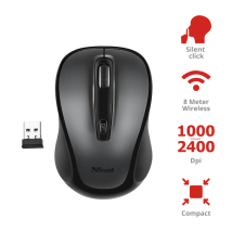 Бесшумная мышь Siero Silent Click Wireless Mouse