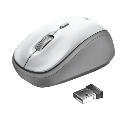 Бездротова миша Yvi Wireless Mouse - white