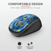 Бездротова миша Yvi Wireless Mouse - peacock