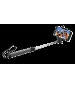 Bluetooth Foldable Selfie Stick - black