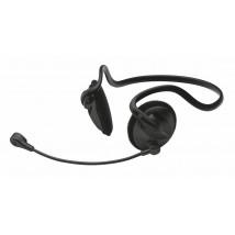 Гарнітура з мікрофоном Cinto headset - black HS-2200 (14411)
