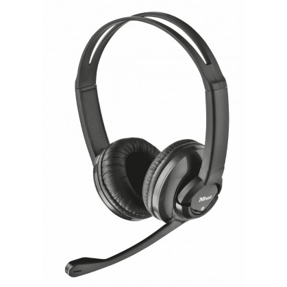 Гарнітура Zaia headset black (15482)