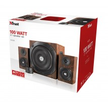 Акустична система Vigor 2.1 Subwoofer Speaker Set - brown