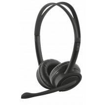 Гарнітура з мікрофоном Mauro USB headset - black