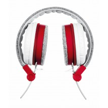 Гарнитура Fyber headphone grey/red