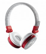 Гарнітура Fyber headphone grey / red