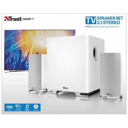 Mitho 2.1 speaker set for TV - white