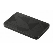 Power Bank 1800T - ultra thin portable charger black