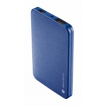 Power Bank 1800T - ultra thin portable charger blue
