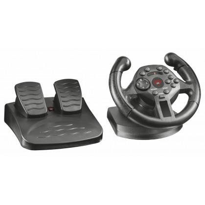 Рульове колесо GXT 570 Compact vibration racing wheel