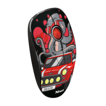 Миша Trust Sketch Silent Click Wireless Mouse - red