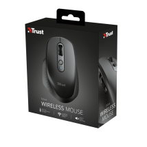 Бездротова оптична миша Trust Ozaa Rechargeable Wireless Mouse - black