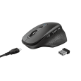 Бездротова оптична миша Trust Ozaa Rechargeable Wireless Mouse - black