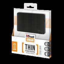 PowerBank 2200T Ultra-thin Portable Charger - black pattern