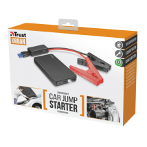 Павербанк з зажимами для автомобільного аккумулятора Car Jump Starter with 6.000 mAh Powerbank