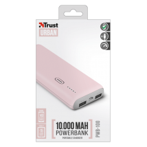 Power Bank PWB-100 Powerbank 10000mAh - pink (22263)