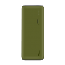 Power Bank PWB-100 Powerbank 10000mAh - green (22265)