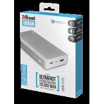 Павербанк Omni Plus Metal Powerbank 20000 mAh USB-C QC3.0