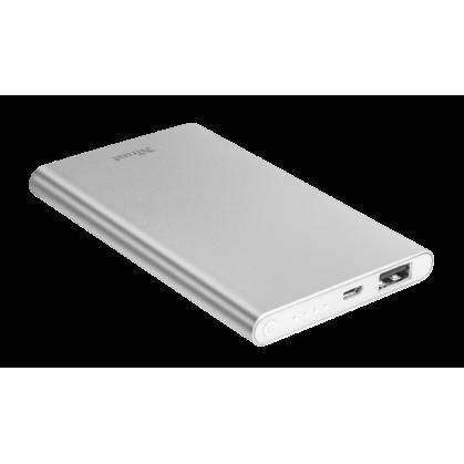 Ультратонкі портативний зарядний пристрій Ula Thin Metal Powerbank 4000 mAh