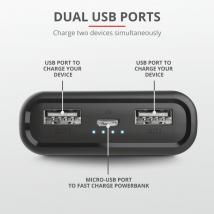 Портативное зарядное устройство Pacto Pocket-sized Powerbank 10.000 mAh
