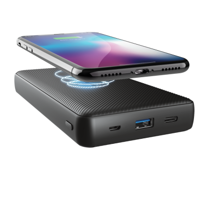 Беспроводной Powerbank  Trust Primo Wireless Charging 20.000 mAh