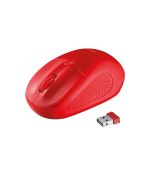 Миша TRUST Primo Wireless Mouse red
