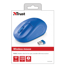Миша TRUST Primo Wireless Mouse blue (20786)