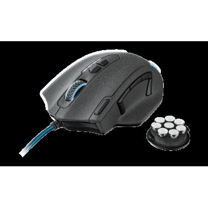 Мышь проводная Sven RX-555 Antistress Silent синий USB