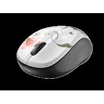 Мышь Vivy Wireless Mini Mouse GREY FLOWERS
