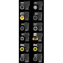 Зарядний пристрій 90W PLUG & GO SMART LAPTOP CHARGER - BLACK