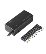 Зарядное устройство 120w Plug & go laptop & phone charger - black