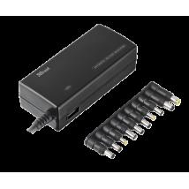 Зарядний пристрій 120w Plug & go laptop & phone charger - black