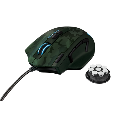 Миша GXT 155C Gaming Mouse - green camouflage