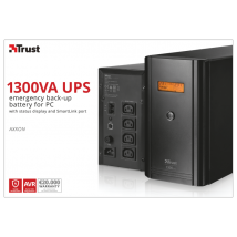 ДБЖ Axxon 1300VA UPS with LCD display