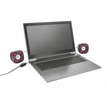 Колонки Xilo Compact 2.0 Speaker Set - pink