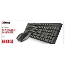 Клавіатура + миша XIMO Wireless Keyboard & Mouse UKR (21628)
