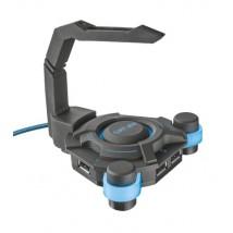USB-концентратор GXT 213 USB Hub & Mouse Bungee з тримачем для проводу миші