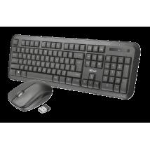 Комплект клавиатура и мышь Trust  Nova Wireless Keyboard with mouse