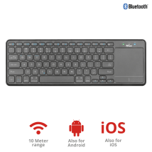Мультимедійна клавіатура Mida Bluetooth Wireless Keyboard with XL touchpad (23009)