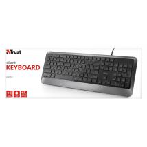 Бесшумная клавиатура Trust Erou Silent Keyboard