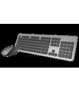 Комплект клавіатура і миша Trust Raza Wireless Silent Keyboard & Mouse