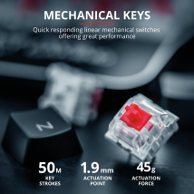 Механічна клавіатура Trust GXT 877 Scarr Mechanical Gaming Keyboard